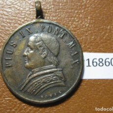 Medallas históricas: MEDALLA RELIGIOSA, VATICANO PIO IX 1877, 9. Lote 143156254