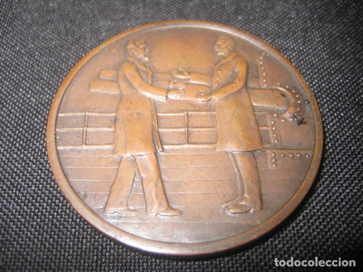 MEDALLA ARGENTINA ? MONUMENTO AL GENERAL ROCA 1941 40MM 27 GR (Numismática - Medallería - Histórica)