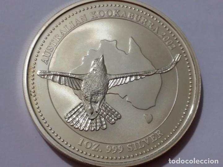 AUSTRALIA -MONEDA- 1 DOLAR 2002 PLATA ( 31,80 GR. ) SC UNC ( K013 ) (Numismática - Medallería - Histórica)