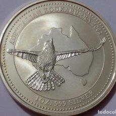 Medallas históricas: AUSTRALIA -MONEDA- 1 DOLAR 2002 PLATA ( 31,80 GR. ) SC UNC ( K013 ). Lote 144403442