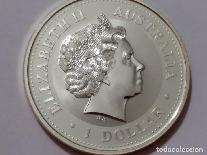 Medallas históricas: AUSTRALIA -MONEDA- 1 DOLAR 2002 PLATA ( 31,80 GR. ) SC UNC ( K013 ) - Foto 2 - 144403442
