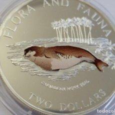 Medallas históricas: BAHAMAS -MONEDA- 2 DOLARES 1995 ( 28,30 GR. ) SC UNC ( K015 ). Lote 144426814
