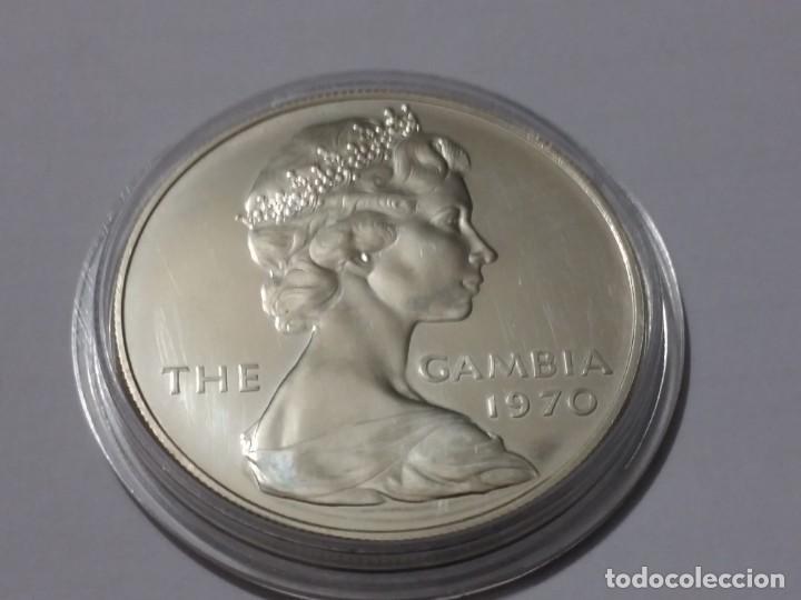 Medallas históricas: GAMBIA -MONEDA- 8 SHILLINGS 1970 ( 31,50 GR. ) SC UNC ( K017 ) - Foto 2 - 144486586