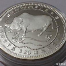 Medallas históricas: LIBERIA -MONEDA- 20 DOLARES 1997 ( 31,33 GR ) SC UNC ( K033 ). Lote 144510706