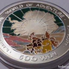 Medallas históricas: COREA DEL SUR -MONEDA-500 WON 1996 PLATA ( 31,07 GR. ) SC UNC ( K035 ). Lote 144511326