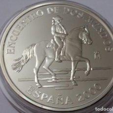 Historical Medals - ESPAÑA -MONEDA- 2000 PESETAS 2000 PLATA ( 27,00 GR. ) SC UNC ( K043 ) - 144638762