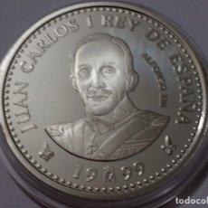 Medallas históricas: ESPAÑA -MONEDA- 2000 PESETAS 1999 PLATA ( 27,00 GR. ) SC UNC ( K044 ). Lote 144639478
