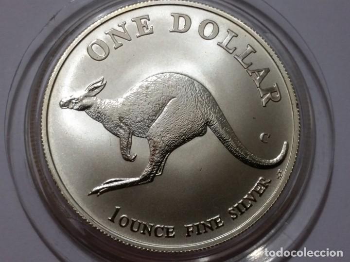 AUSTRALIA -MONEDA- UN DOLAR 1998 PLATA ( 32,00 GR. ) SC UNC ( K048 ) (Numismática - Medallería - Histórica)