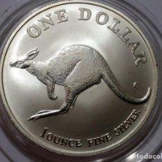 Medallas históricas: AUSTRALIA -MONEDA- UN DOLAR 1998 PLATA ( 32,00 GR. ) SC UNC ( K048 ). Lote 144647506