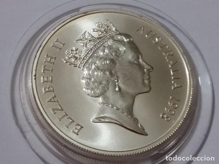Medallas históricas: AUSTRALIA -MONEDA- UN DOLAR 1998 PLATA ( 32,00 GR. ) SC UNC ( K048 ) - Foto 2 - 144647506
