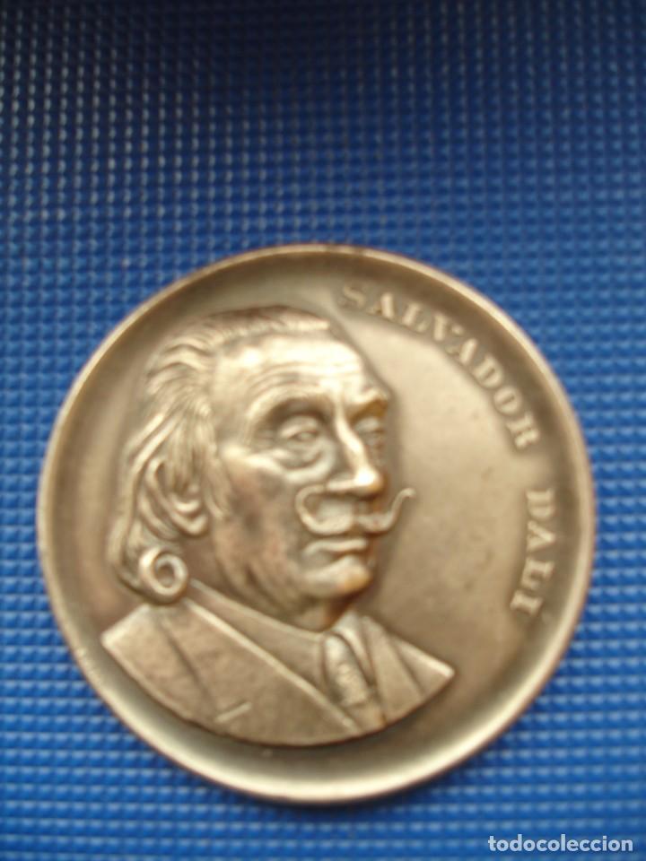 MEDALLA CONMEMORATIVA DALI 1974 50MM (Numismática - Medallería - Histórica)