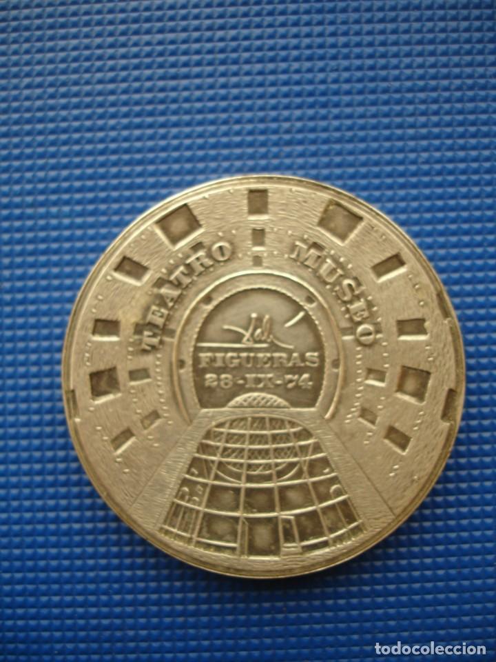 Medallas históricas: MEDALLA CONMEMORATIVA DALI 1974 50MM - Foto 2 - 144655642