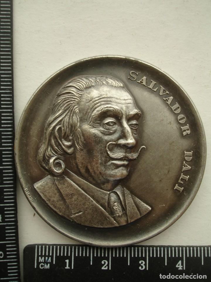 Medallas históricas: MEDALLA CONMEMORATIVA DALI 1974 50MM - Foto 3 - 144655642
