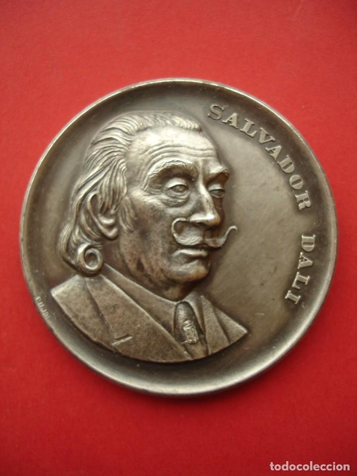 Medallas históricas: MEDALLA CONMEMORATIVA DALI 1974 50MM - Foto 4 - 144655642