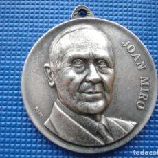 Medallas históricas: MEDALLA CONMEMORATIVA DE JOAN MIRO 1976. Lote 144798218