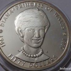 Medallas históricas: ISLAS MARSHALL -MONEDA- 50 DOLARES 1997 PLATA ( 31,40 GR. ) SC UNC ( K055 ). Lote 144895918