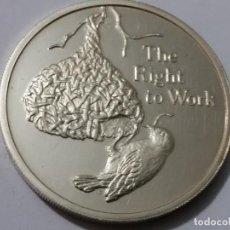 Medallas históricas: ZAMBIA -MONEDA- 500 KWACHA 1994 PLATA ( 31,50 GR. ) SC UNC ( K057 ). Lote 144897854