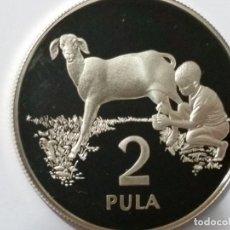 Medallas históricas: BOTSWANA -MONEDA- 2 PULA 1989 PLATA ( 28,28 GR. ) SC UNC ( K058 ). Lote 144898754
