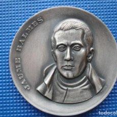 Medallas históricas: MEDALLA CONMEMORATIVA DE JAUME BALMES BARCELONA 1969. Lote 145010110
