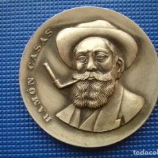 Medallas históricas: MEDALLA CONMEMORATIVA DE RAMÔN CASAS 1969. Lote 145021186