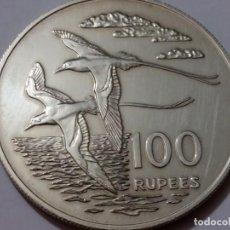 Medallas históricas: SEYCHELLES -MONEDA- 100 RUPEES 1978 PLATA ( 35,30 GR. ) SC UNC ( K069 ). Lote 145114358