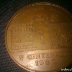 Medallas históricas: MEDALLA BRONCE MEDALLA 1ª FERIA INTERNACIONAL NUMISMATICA, LONJA DE VALENCIA 1982 NUMERADA. Lote 145120386