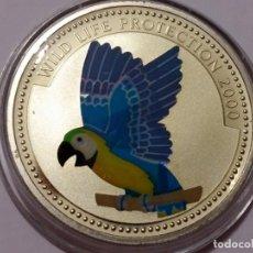 Medallas históricas: CONGO -MONEDA- 10 FRANCOS 2000 PLATA ( 25,50 GR. ) SC UNC ( K082 ). Lote 145185810