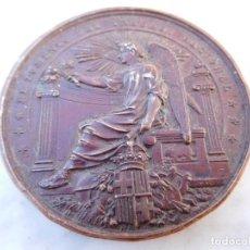 Medallas históricas: MEDALLA FOMENTO DEL TRABAJO NACIONAL ATAQUINES INCENDIADA AÑO 1900 VALLADOLID. Lote 145330994