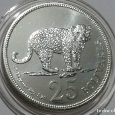 Medallas históricas: VENEZUELA -MONEDA- 25 BOLIBARES 1975 PLATA (28,70 GR. ) ) SC UNC ( K111 ). Lote 145427210