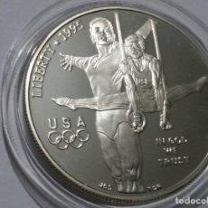 Medallas históricas: ESTADOS UNIDOS -MONEDA- DOLAR 1995 PLATA (27,00 GR. ) ) SC UNC ( K116 ). Lote 145432510