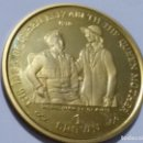 Medallas históricas: GIBRALTAR -MONEDA- 1 CROWN 1999 PLATA DORADA- PRUEBA (28,50 GR. ) ) SC UNC ( K119 ). Lote 145442378