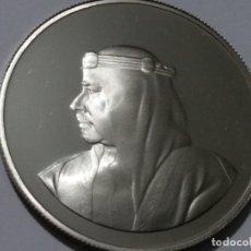 Medallas históricas: BAHREIN -MONEDA- 5 DINARES 1986 PLATA (19,40 GR. ) ) SC UNC ( K122 ). Lote 145444122