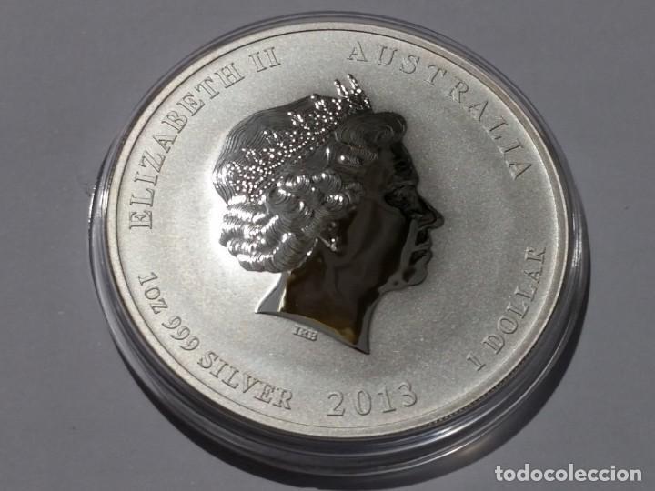 Medallas históricas: AUSTRALIA -MONEDA- 1 DOLAR 2013 PLATA ( 31,40 GR. ) SC UNC ( M 013 ) - Foto 2 - 146559498
