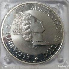 Medallas históricas: AUSTRALIA -MONEDA- 2 DOLARES 2 ONZAS 1992 PLATA SC UNC ( M 017 ). Lote 146565142