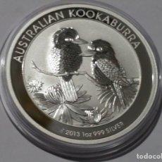 Medallas históricas: AUSTRALIA -MONEDA- 1 DOLAR 1 ONZA 2013 PLATA SC UNC ( M 019 ). Lote 146567022