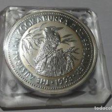 Medallas históricas: AUSTRALIA -MONEDA- 2 DOLARES 2 ONZAS 1993 PLATA SC UNC ( M 024 ). Lote 146574122