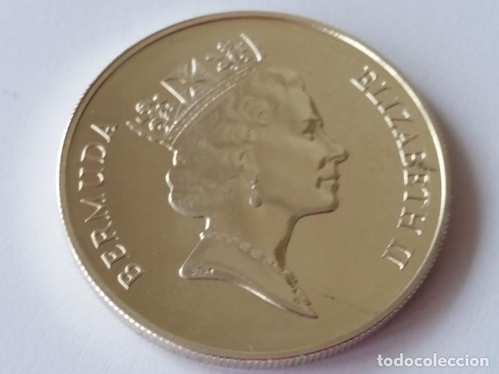 Medallas históricas: BERMUDAS -MONEDA- 1 DOLAR 1989 PLATA ( 28,40 GR. ) SC UNC ( M061 ) - Foto 2 - 147579634