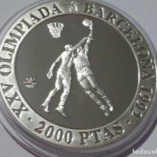 Medallas históricas: ESPAÑA -MONEDA- 2000 PESETAS 1990 PLATA SC UNC ( H066 ). Lote 147736978
