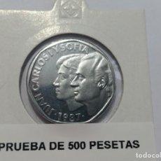 Medallas históricas: ESPAÑA -MONEDA- 500 PESETAS 1987 ( PRUEBA ) SC UNC ( M067 ). Lote 148263438