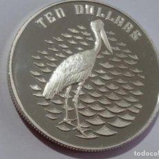 Medallas históricas: AUSTRALIA -MONEDA- 10 DOLARES 1991 PLATA SC UNC ( F035 ). Lote 148265722