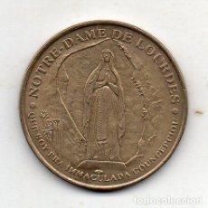Medallas históricas: MEDALLA DE NUESTRA SEÑORA DE LOURDES.. Lote 148604550