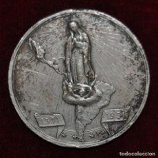 Medallas históricas: MEDALLA DE PLATA-IV CENTENARIO DE LA VIRGEN DE GUADALUPE-1531-1931.. Lote 148705066