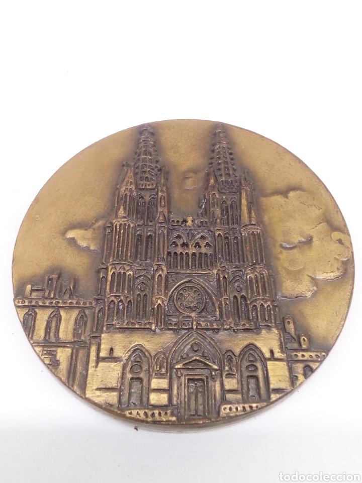 MEDALLA COBRE DE CATEDRAL (Numismática - Medallería - Histórica)