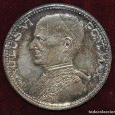 Medallas históricas: MEDALLA DE PLATA-PAULUS VI-PONT MAX-CONCILIO VATICANO II.. Lote 148859662