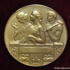 Medallas históricas: MEDALLA DE BRONCE-ESPOSIZIONI RIUNITE-FIRENZE 1909.. Lote 149654082