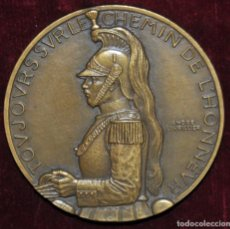 Medallas históricas: MEDALLA DE BRONCE-LES CUIRASSIERS-ANDRÉ LAURILLER.. Lote 149666738