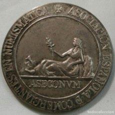Medallas históricas: MEDALLA ASECONVM - I CONVENCIÓN NUMISMÁTICA - MADRID 1981. PLATA 24 GR.. Lote 150009538