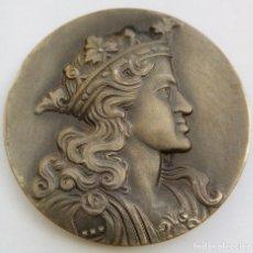 Medallas históricas: MEDALLA - CARLOS II - CÍRCULO FILÁTELICO Y NUMISMÁTICO DE BARCELONA - 1966 - VALLMITJANA. Lote 150695262
