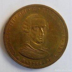 Medallas históricas: MEDALLA - BICENTENARIO CARLOS III - 1988 - FNMT. Lote 150735206