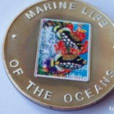 Medallas históricas: UGANDA -MONEDA- 100 SHILLINGS 2002 PLATA SC UNC ( P014 ). Lote 151996778